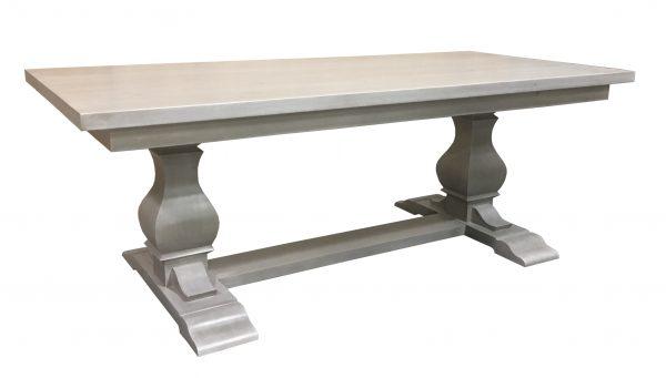 carved pedestal table