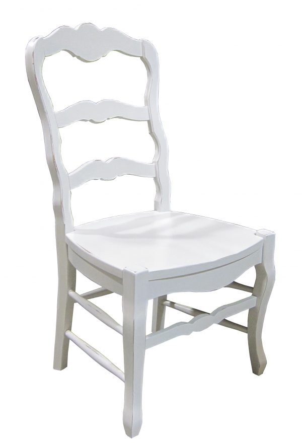 french ladderback chair