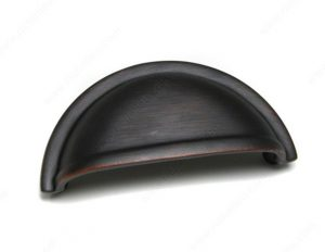 Oil Rubbed Bronze Cup Pull