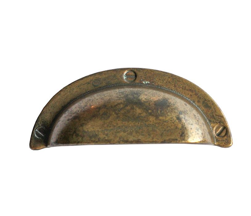 Tarnished Brass Pull