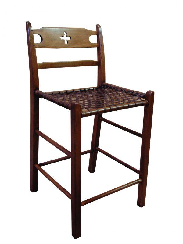 wood counter stool