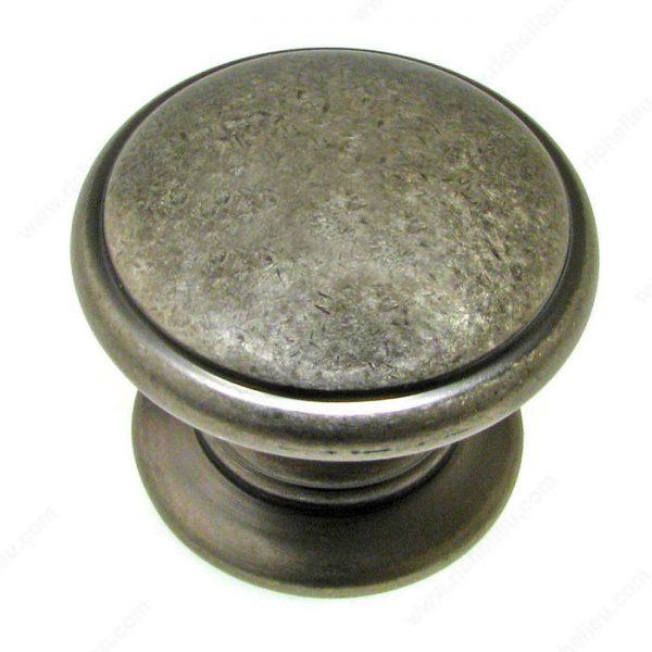 pewter knob