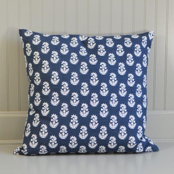 floral pattern cushion