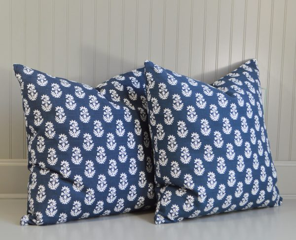floral pattern cushions