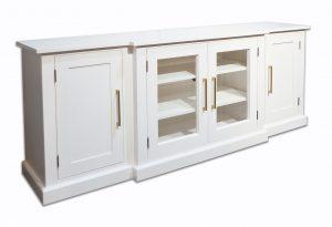 white media sideboard cabinet