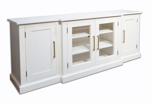 white media sideboard cabinet