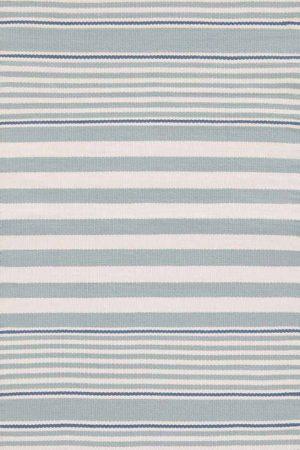 Beckham Stripe Light Blue Indoor/Outdoor Rug