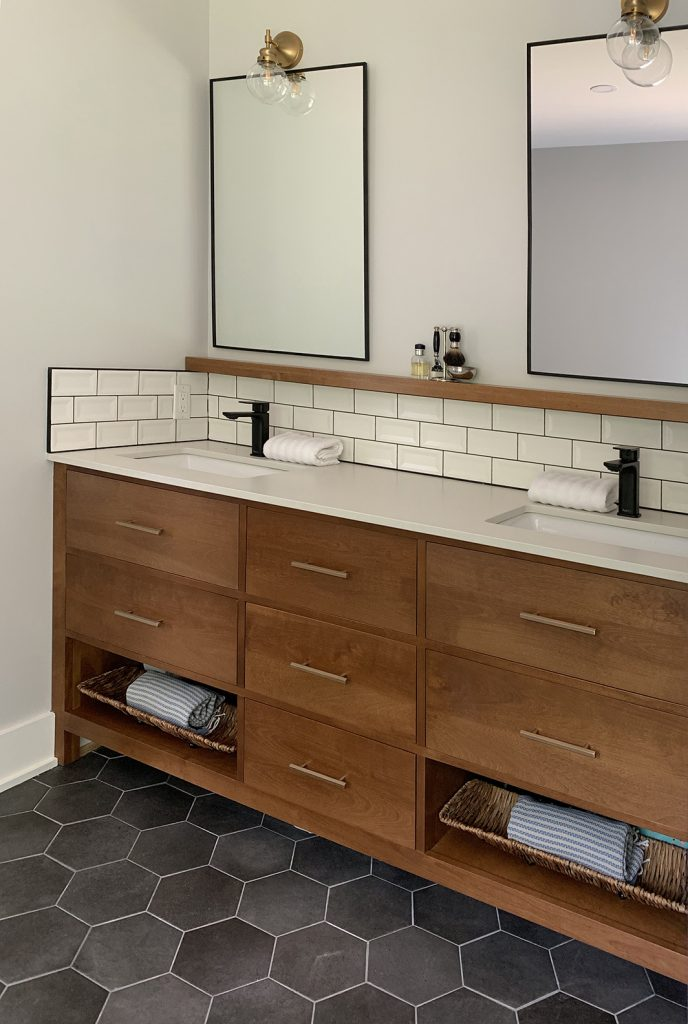 birch vanity